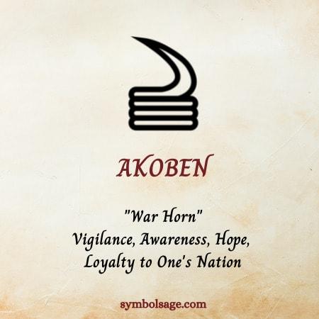 Akoben symbol meaning