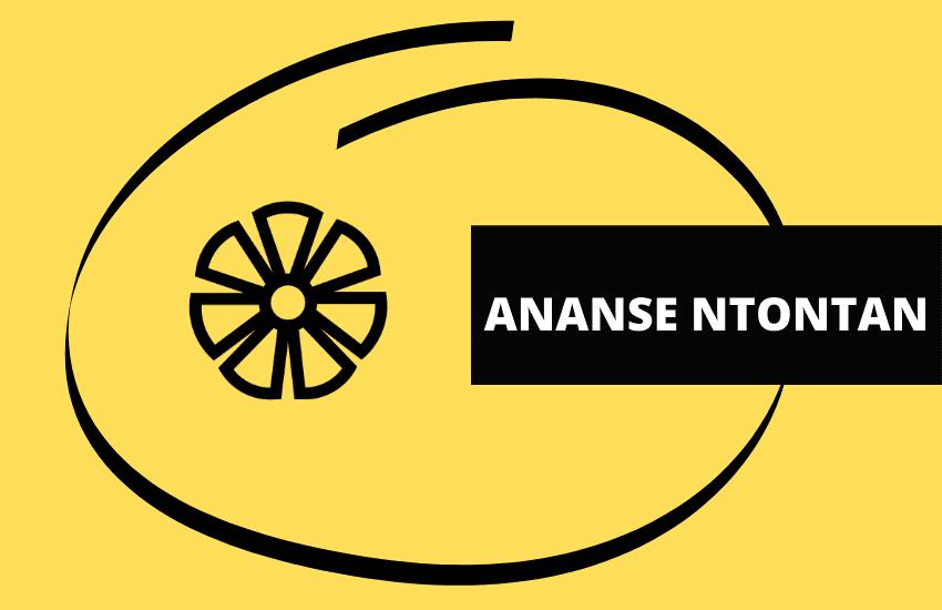 Ananse ntontan symbol