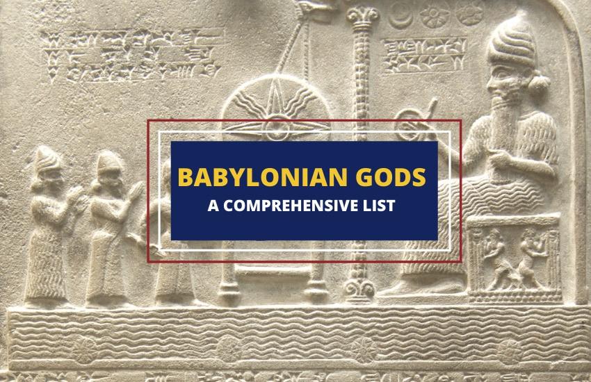 Babylonian gods list