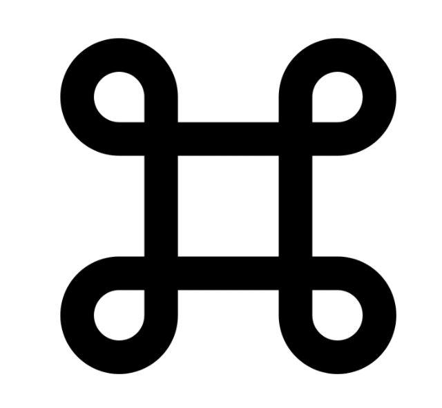 Bowen knot shape