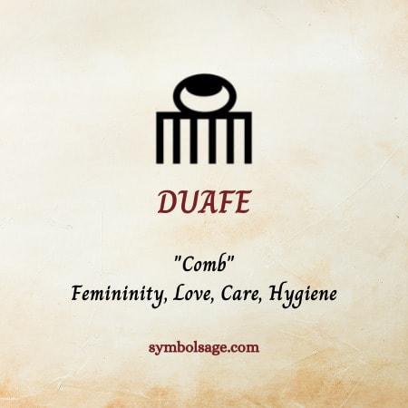 Duafe symbolism