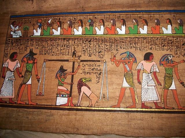Egypt feather