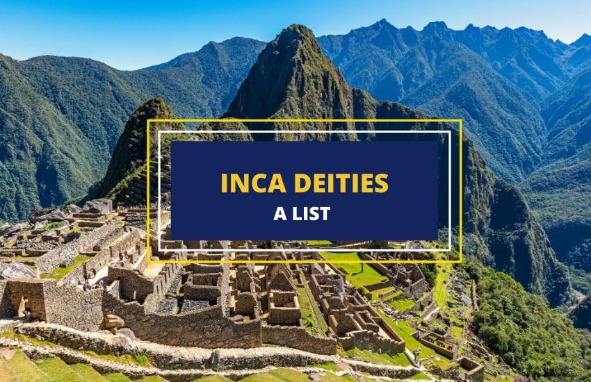 Inca gods goddesses list