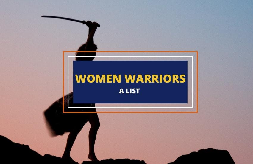 List of women warriors