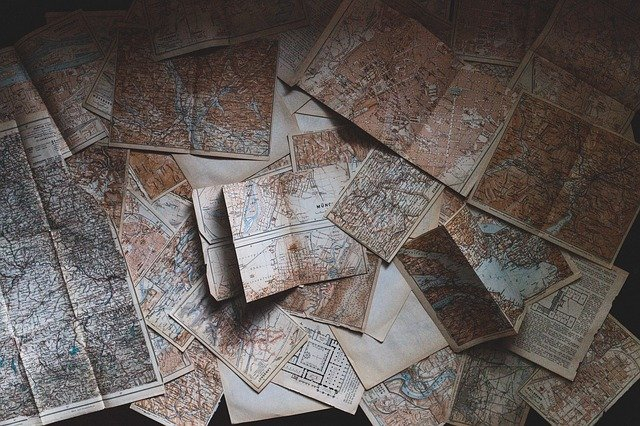 maps used for cartography