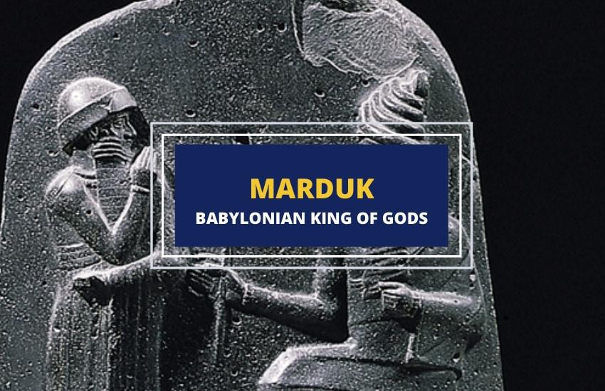 Marduk Babylonian king of Gods