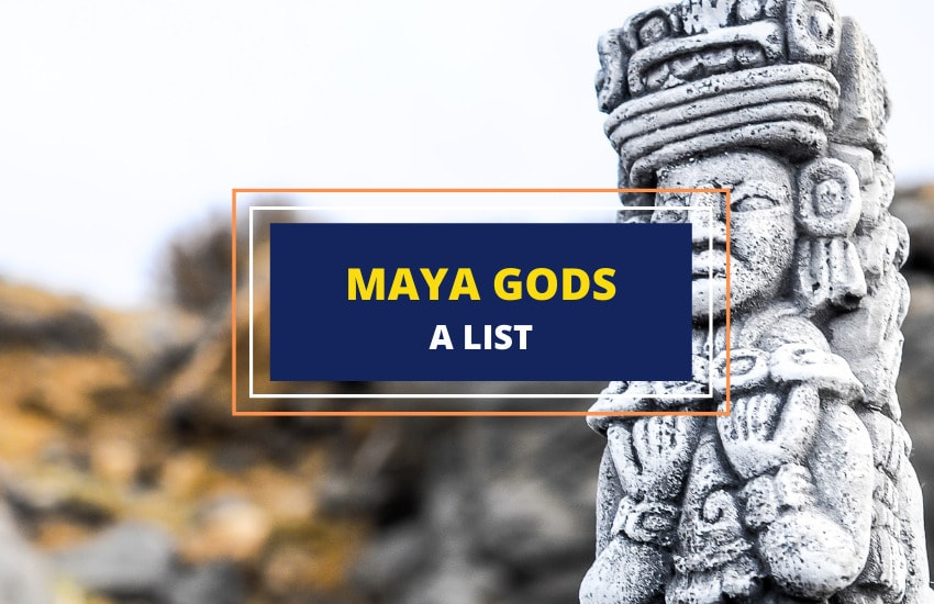 Mayan Gods Goddesses