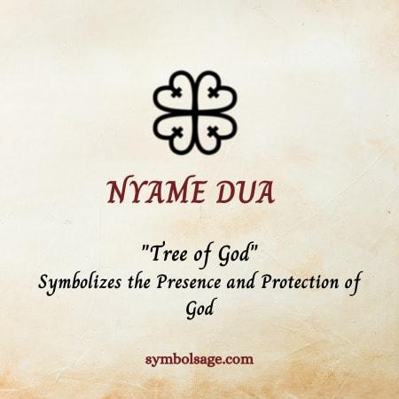 Nyame Dua symbol meaning