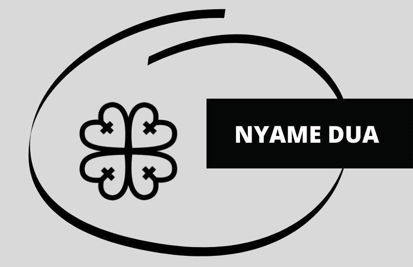 Nyame Dua symbol