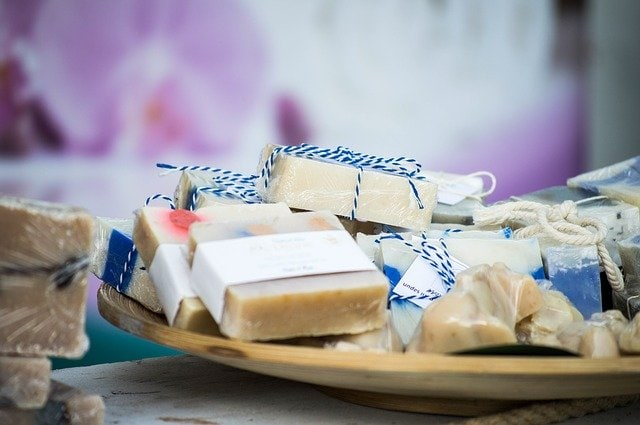 Packaged soaps