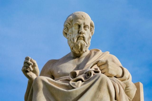 Plato sculpture