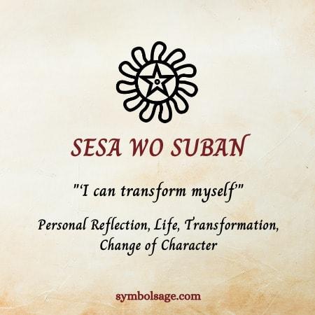 Seso wo suban symbolism