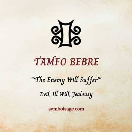 tamfo bebre symbol meaning