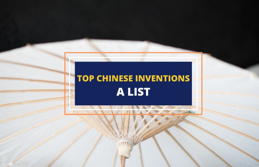 Top Chinese inventions