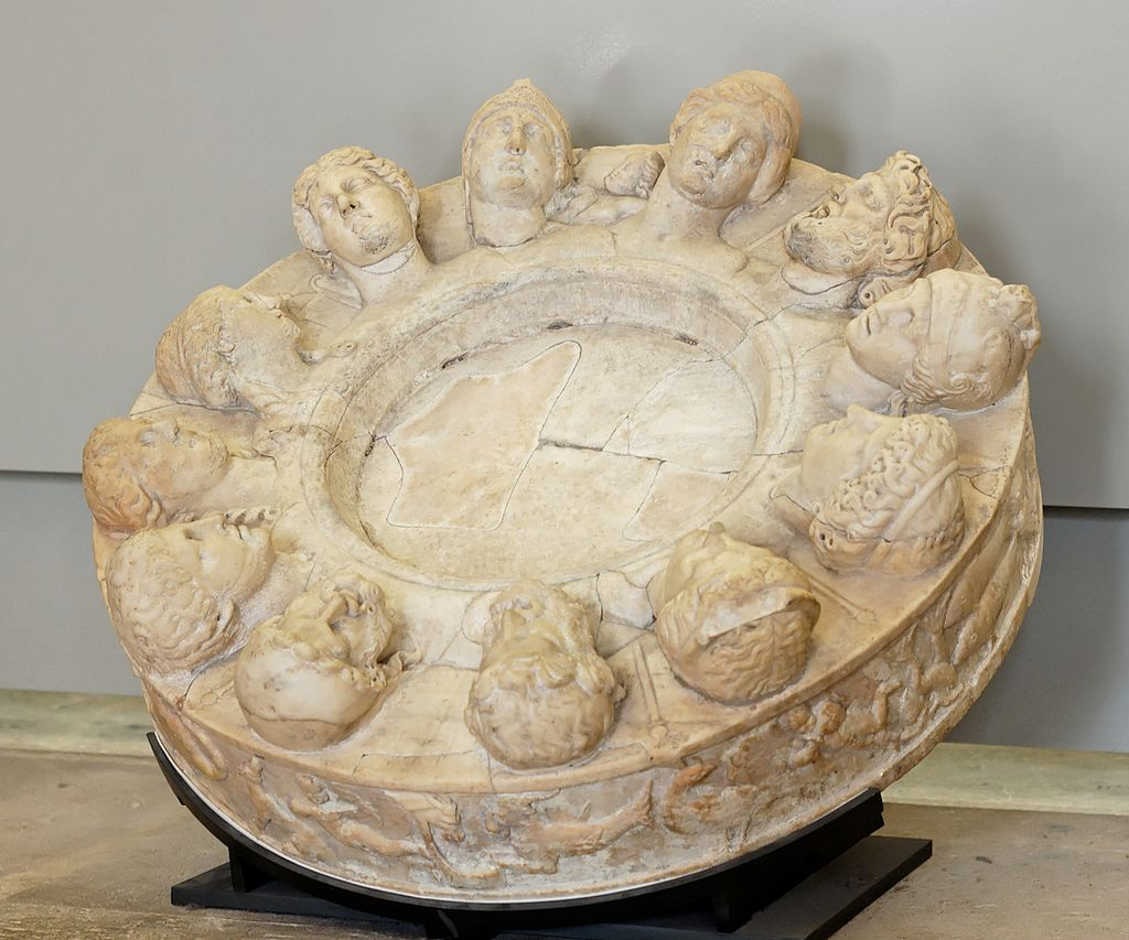 Twelve Roman gods