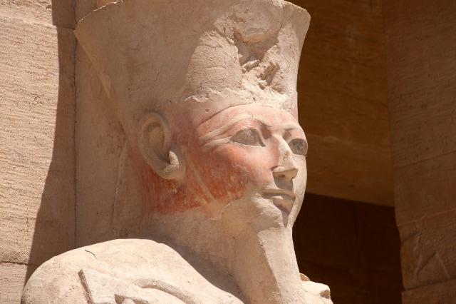 Hatshepsut with fake beard
