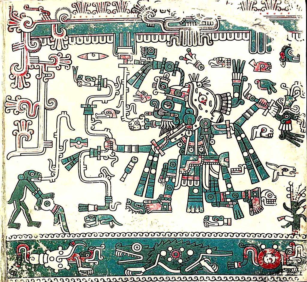 Tlaloc god codex laud