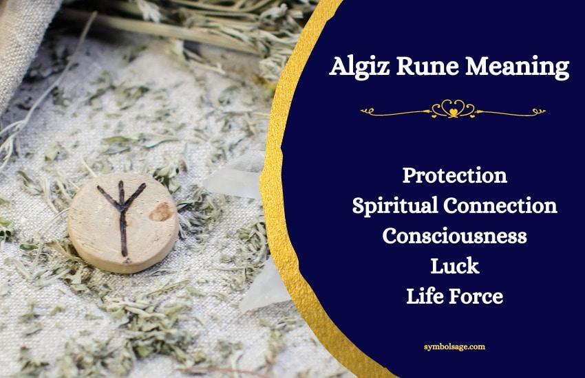 Algiz rune symbol meaning