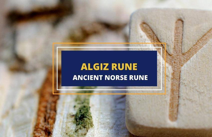 Algiz rune symbol