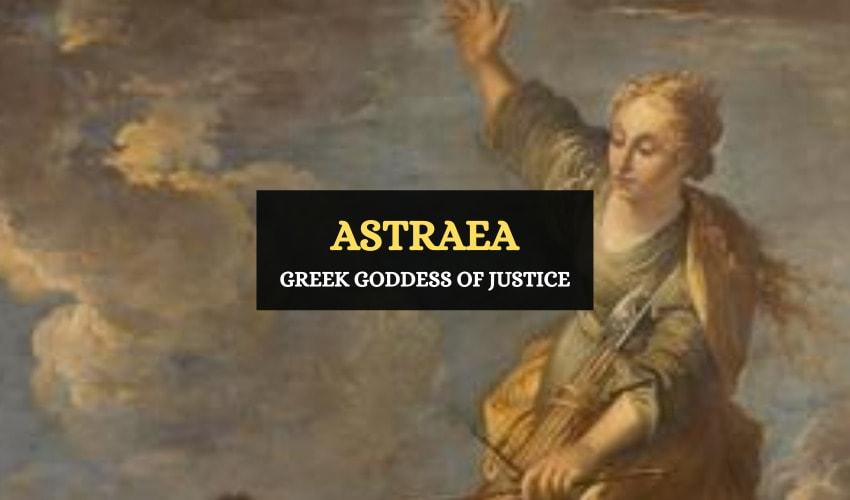 Astraea Greek goddess