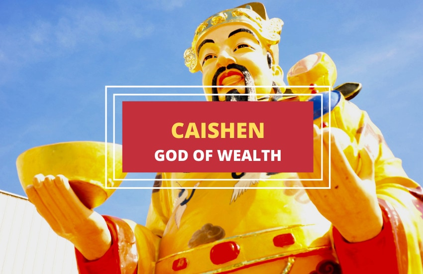 Caishen Chinese god of wealth