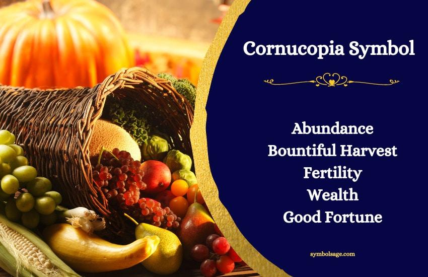 Cornucopia meaning symbolism