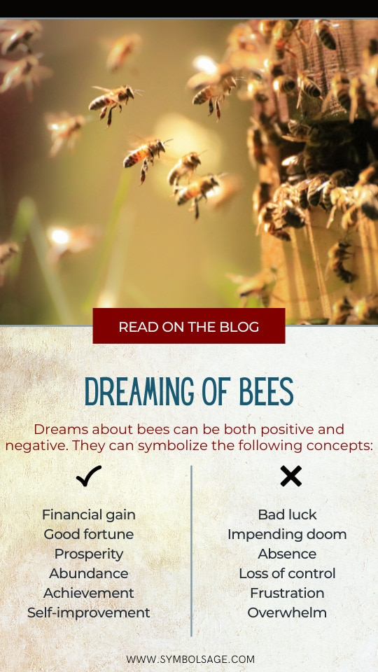 Dreaming of bees meaning