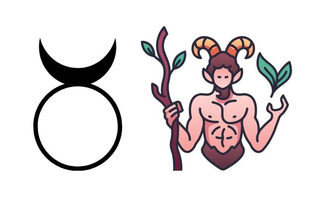 Horned god representations