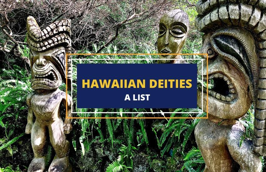 Hawaiian gods list