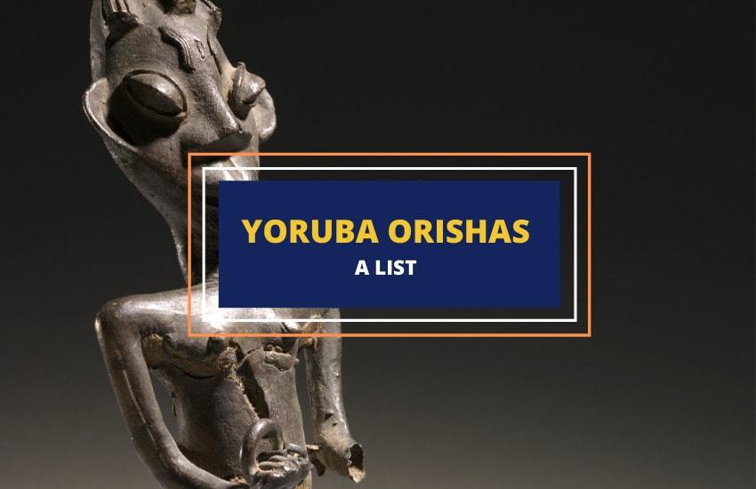 list of Yoruba deities