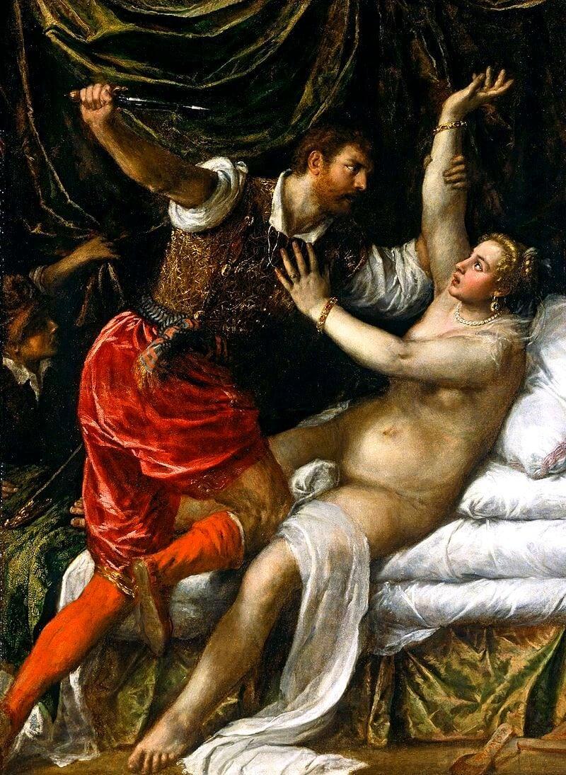 Lucretia painting
