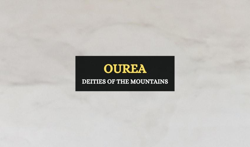 Ourea Greek god of mountains