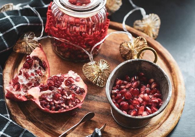 Pomegranate for Yalda night