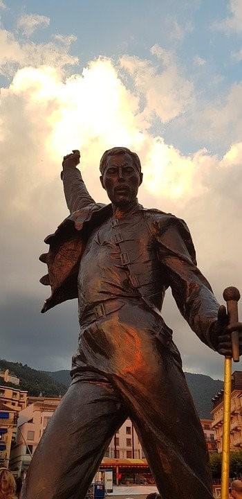 Statue of Freddie Mercury