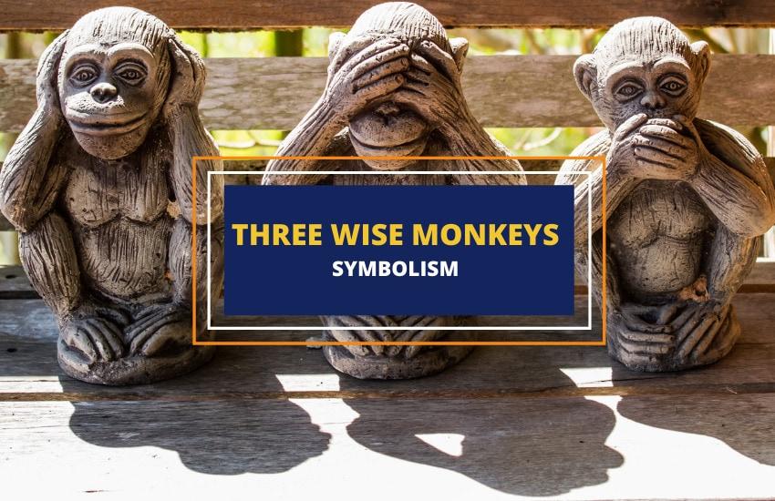 Symbolism of three wise monkeys