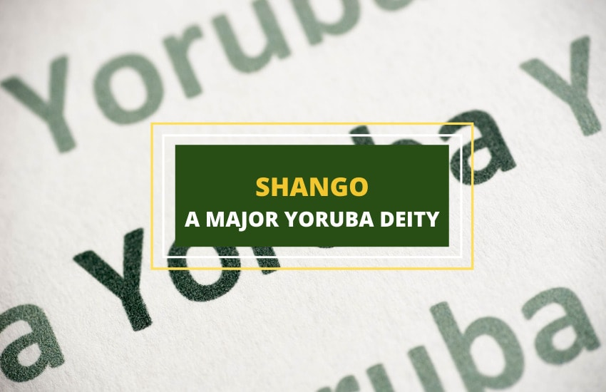 Shango Yoruba deity