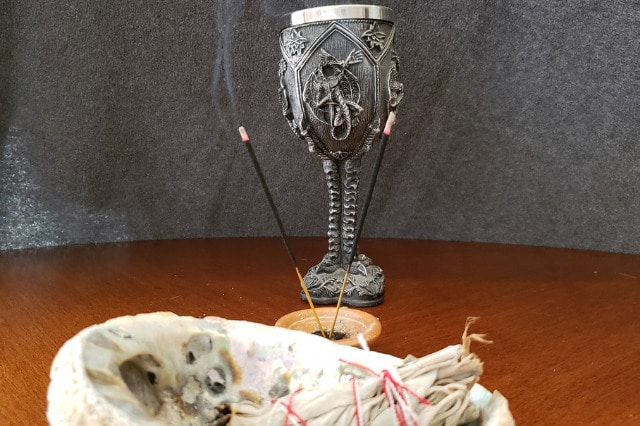 Wicca chalice