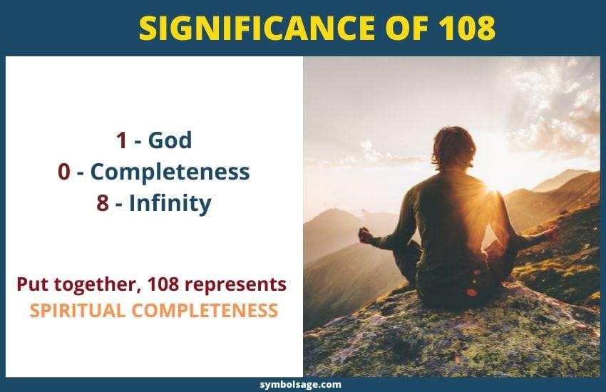 108 spiritual meaning