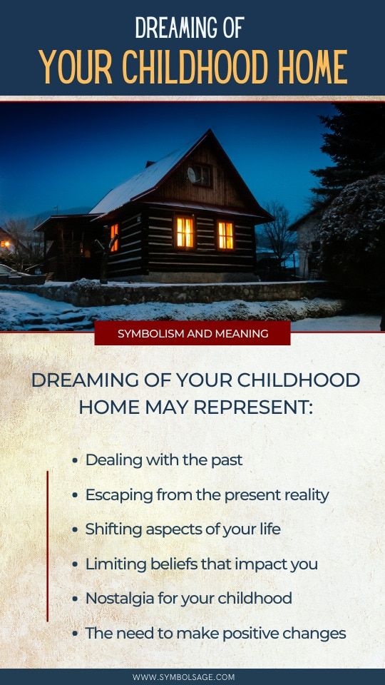 Dreaming of childhood home