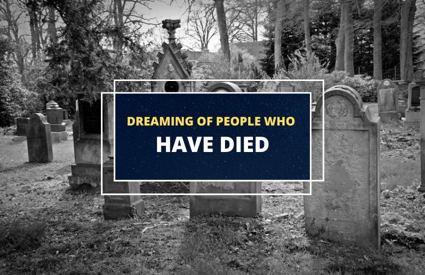 Dreaming of dead people
