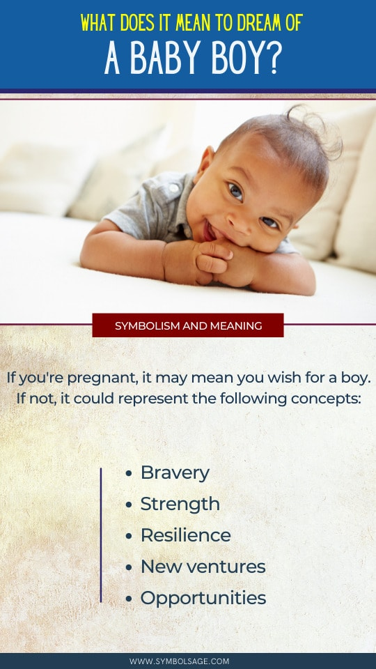 Dreaming of a baby boy meaning