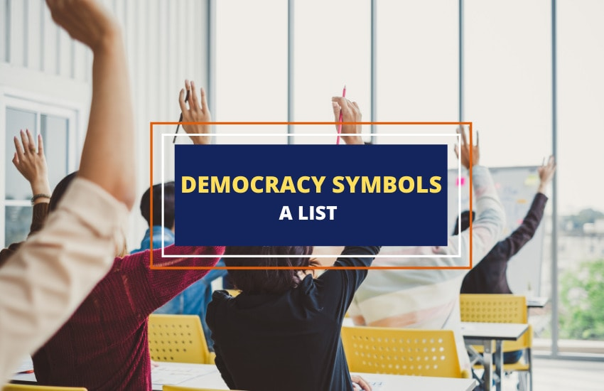 List of democracy symbols