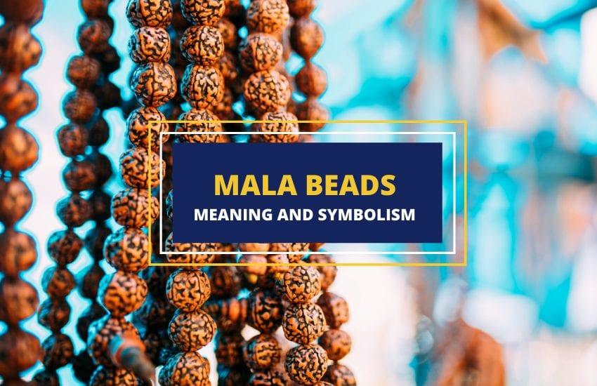 Mala beads symbolism and uses
