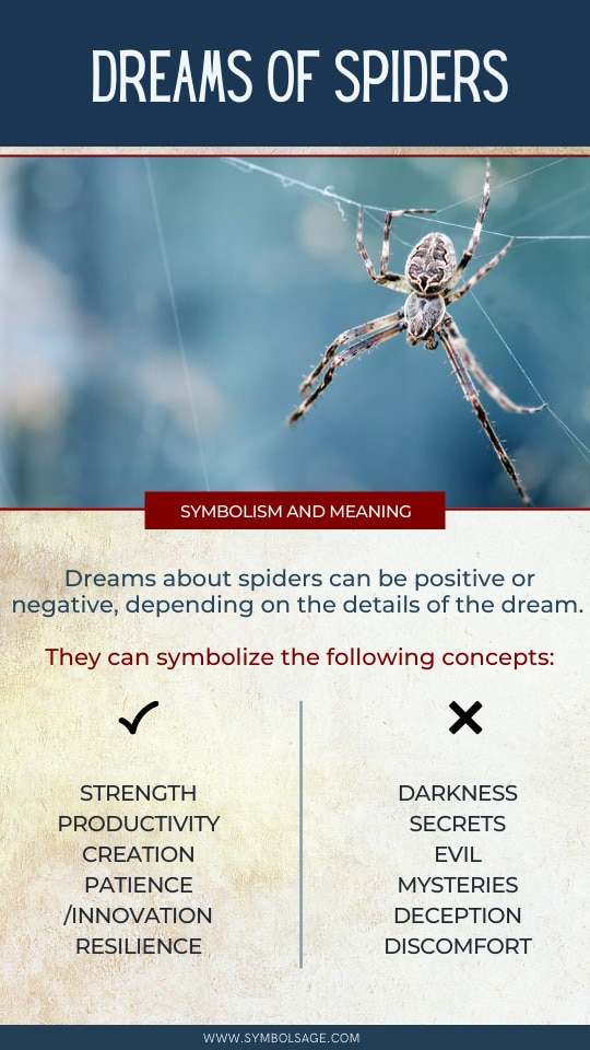 Dreaming of spiders meaning