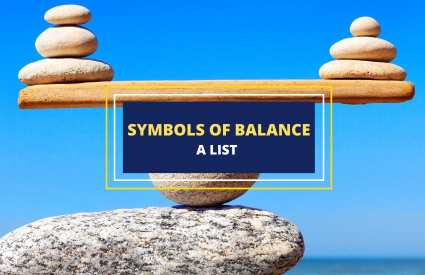 Symbols of balance list